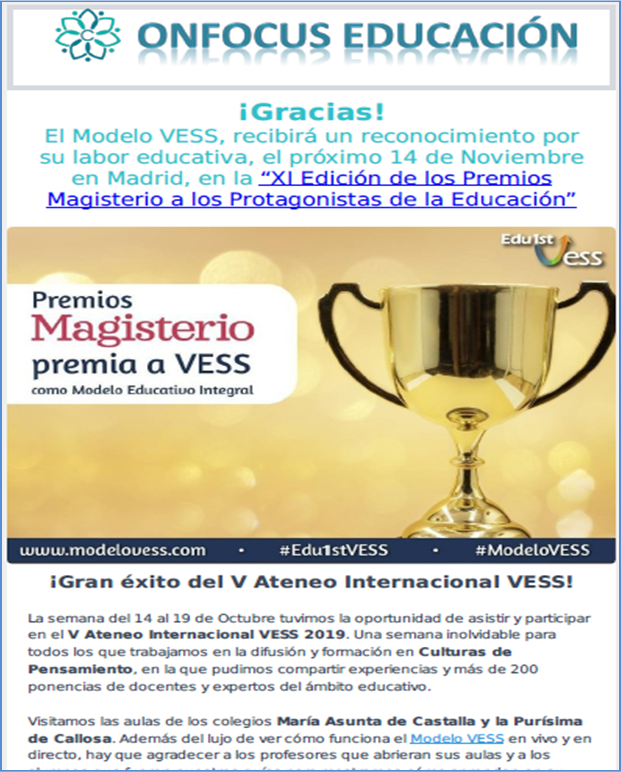 Newsletter Octubre 2019